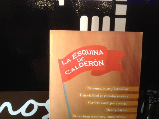 Bar Restaurante la Esquina del Calderón